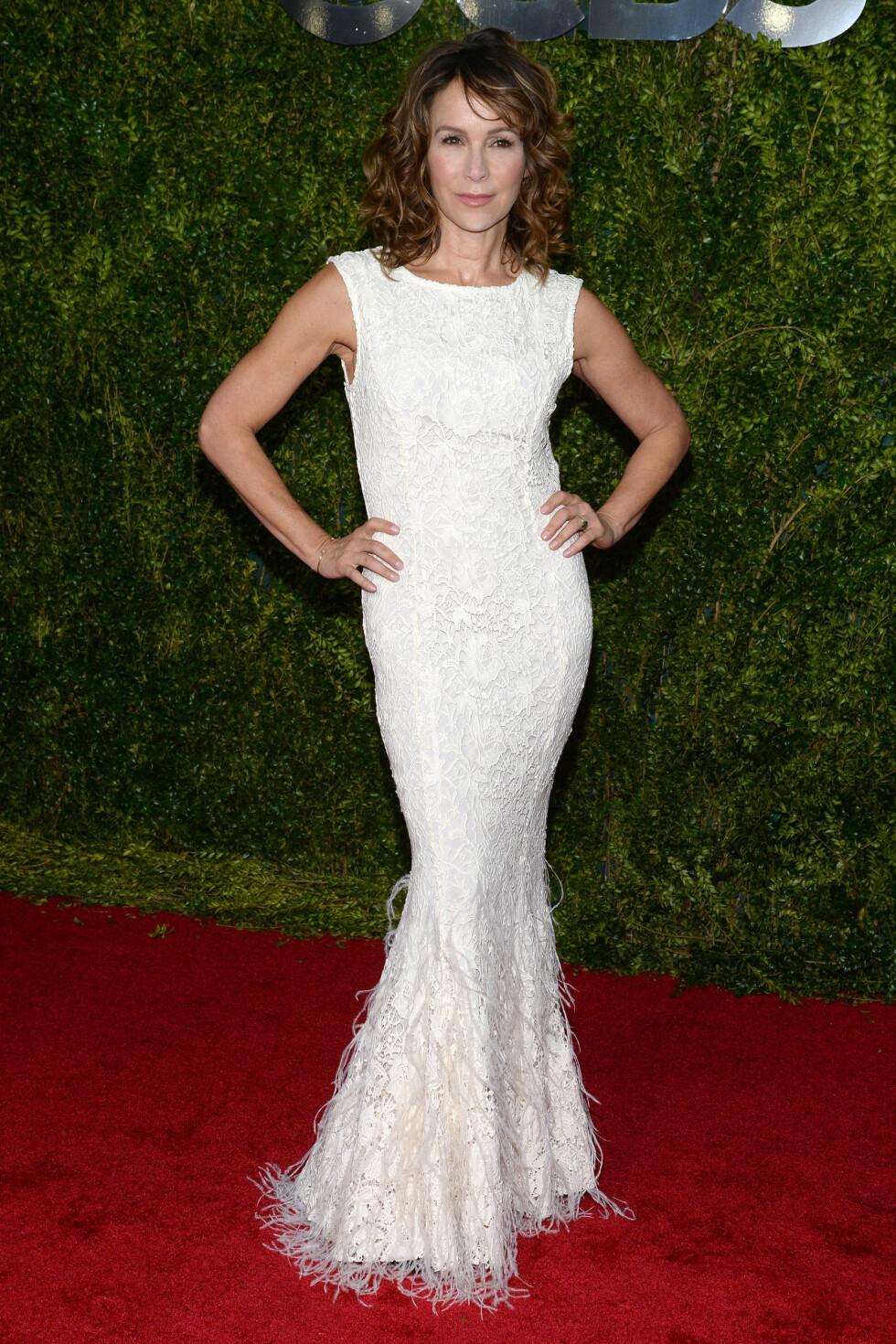 2015: Jennifer Grey på Tony Awards. Foto: SipaUSA