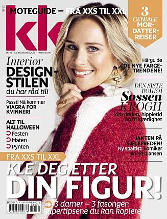 NYTT NUMMER: KK 43 er i salg fra fredag 23. oktober.  Foto: Ida Bjørvik