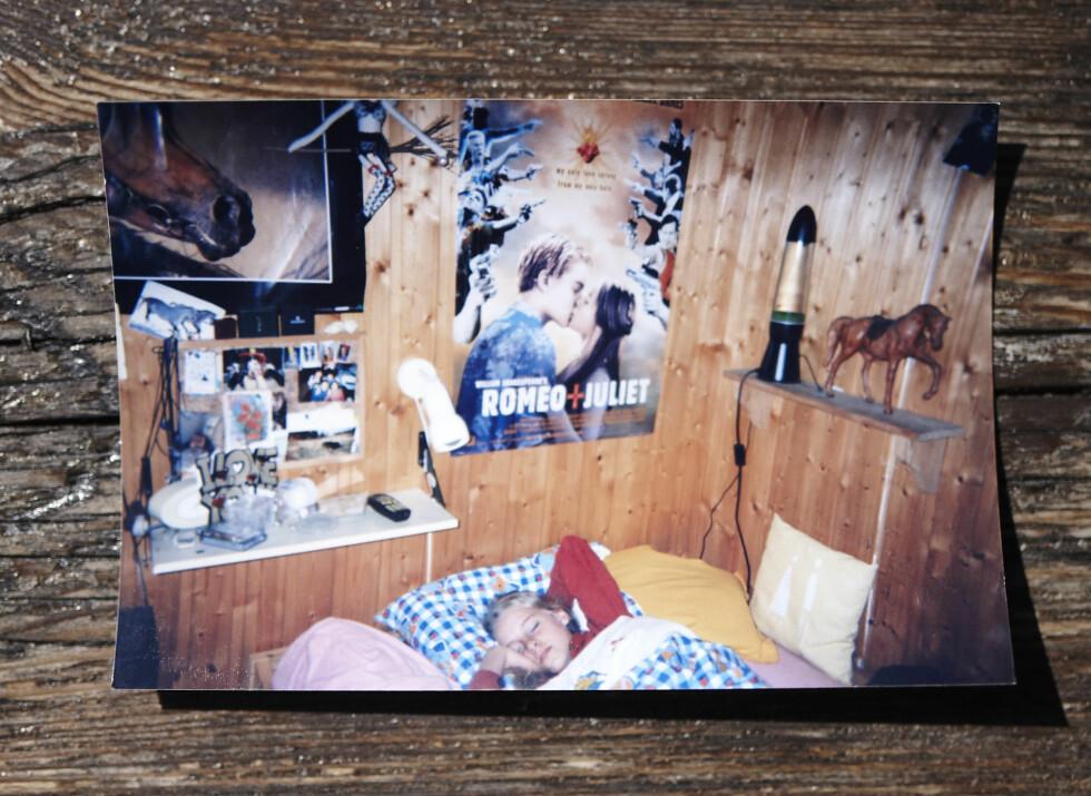 SNEK SEG UT: Det var ikke alltid sånn at Tuva sov søtt i sengen sin på pikerommet da hun var tenåring.  Foto: Geir Dokken