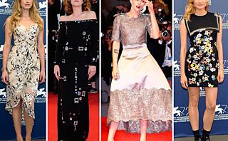 De vakreste kjolene fra filmfestivalen i Venezia