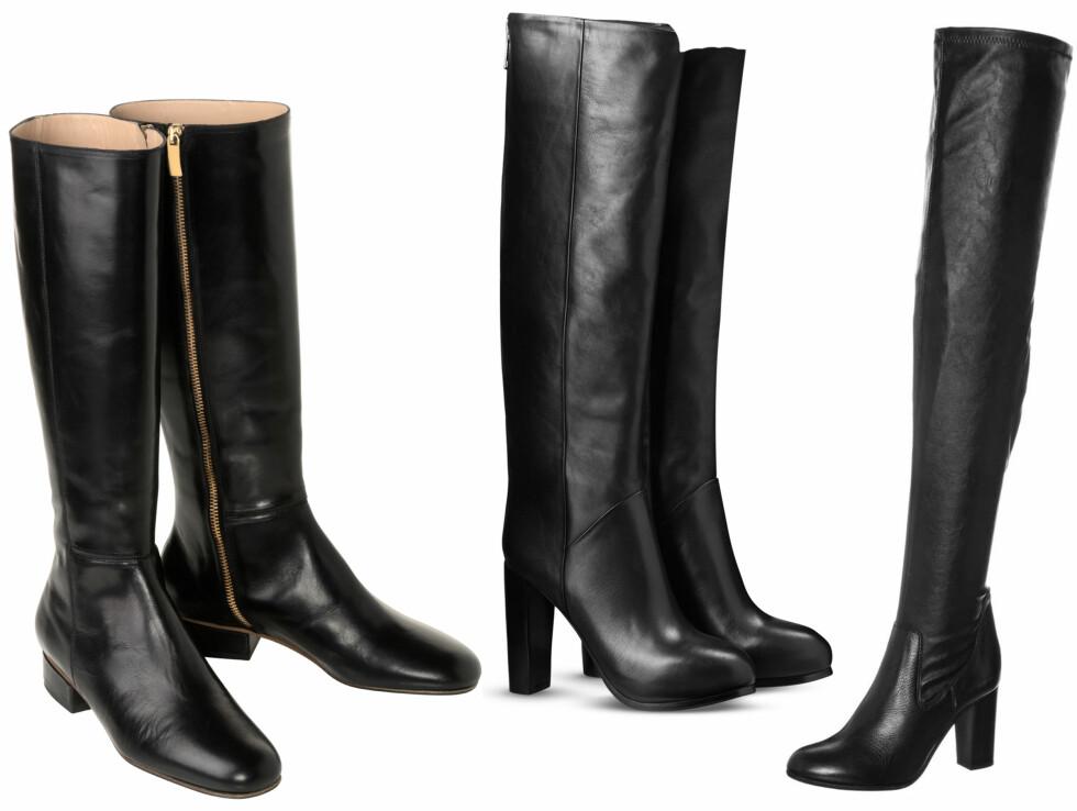 Trenden vi elsker: Knehøye boots