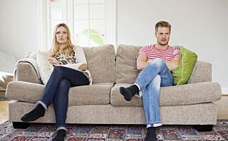 Slenger du ofte med leppa mot partneren?