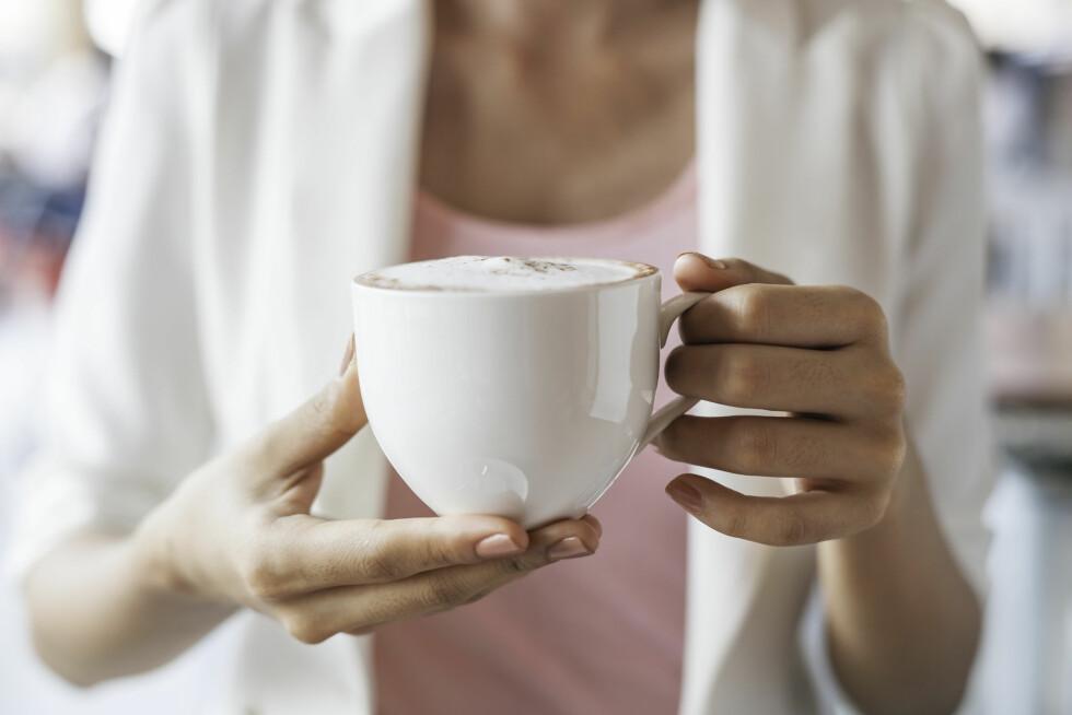 KAFFE KAN VÆRE BRA: Det finnes flere positive sider ved en kopp kaffe. Foto: psphotography - Fotolia
