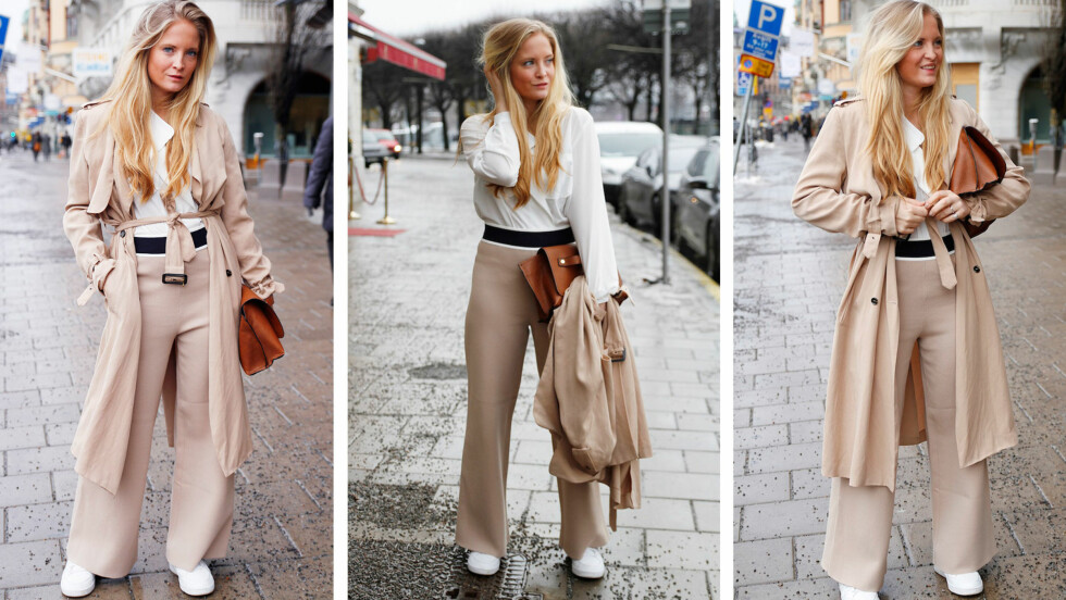 KØBENHAVN: Nathalie oppdaterer stadig bloggen mens hun er på Fashion Week. Foto: Nathaliehelgerud.com