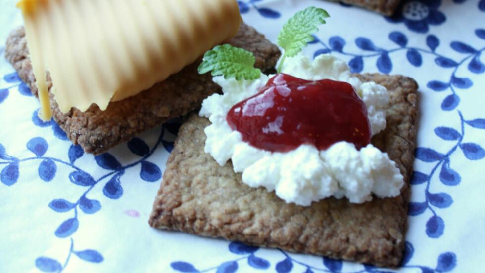 UTEN SUKKER: Blogger Linda Marie Stuhaugs sukkerfrie kjeks kan bli en hit i heimen. Foto: Linda Marie Stuhaug