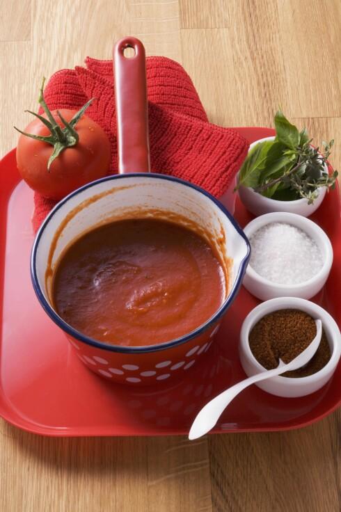 VARM: Tomatene er sunnere når de er varmet opp. Foto: Scanpix