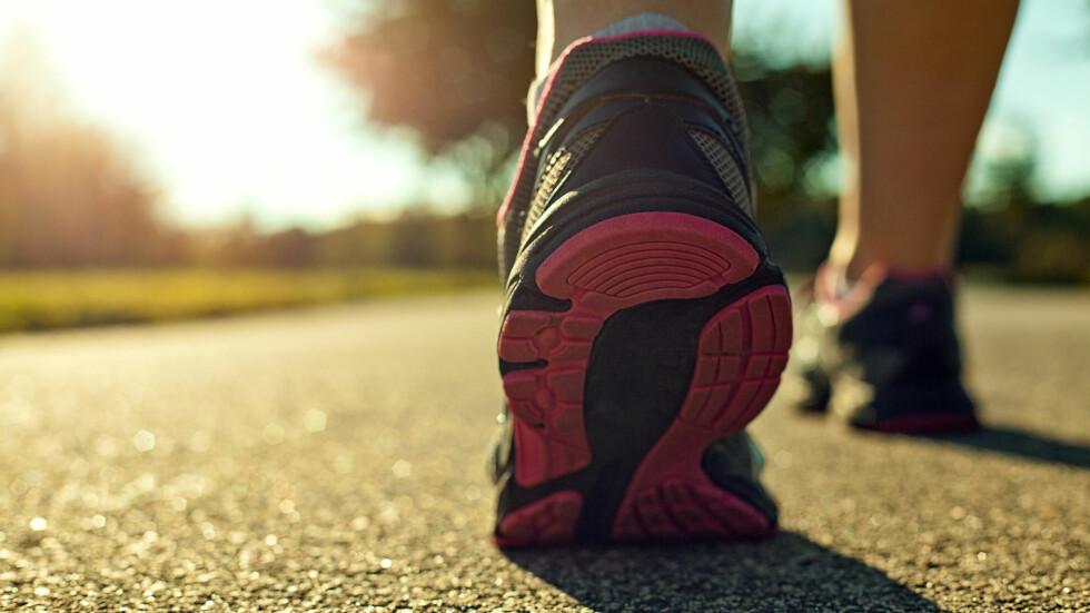 BRUK BEINA OG FÅ OPP TEMPO: Da kan du gjøre turen til en skikkelig kalorikiller.  Foto: kevron2001 - Fotolia