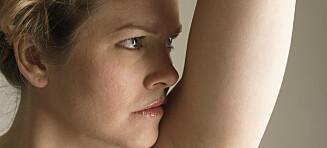Lukter det veldig stramt når du svetter?