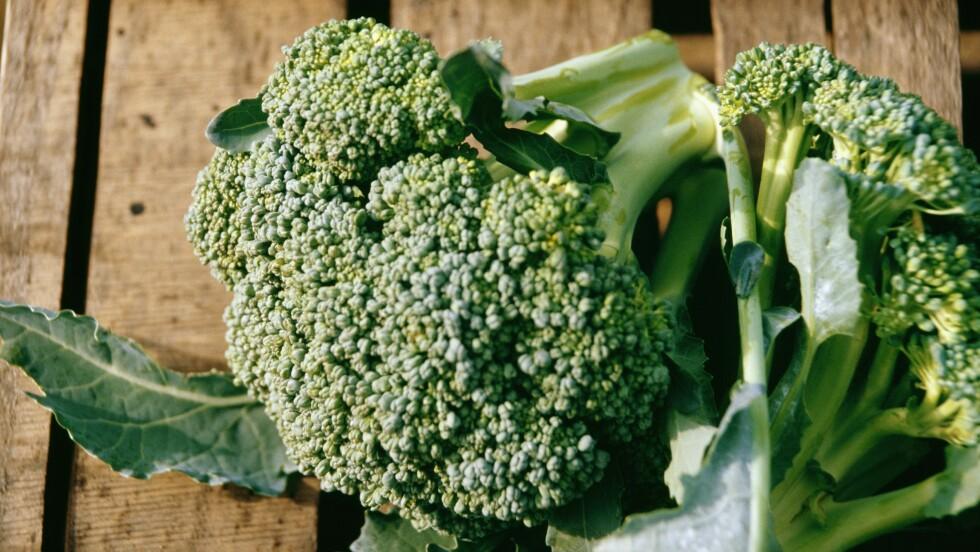 BROKKOLI: Drikker du ikke melk, kan du blant annet spise mer brokkoli for å dekke kalsiumbehovet.  Foto: Scanpix
