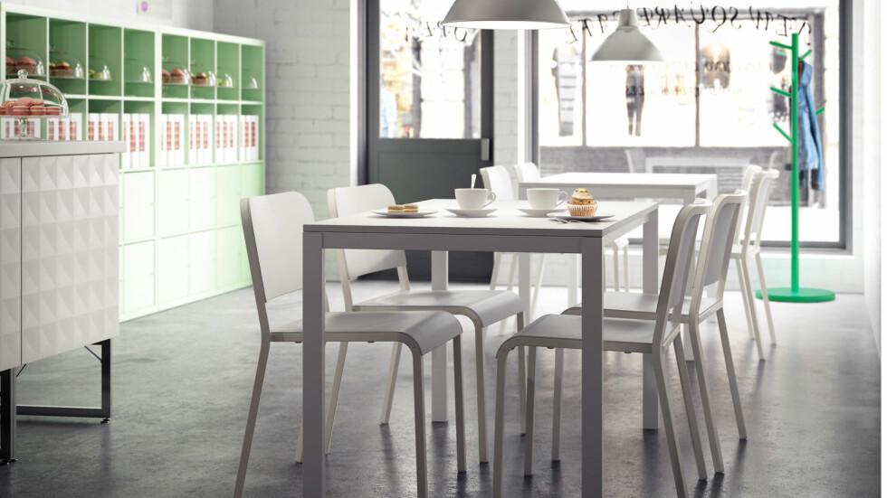 Fine, lette spisestoler gjør deg i et lyst og luftig rom. (Kr. 165, Ikea.no) Foto: Produsenten
