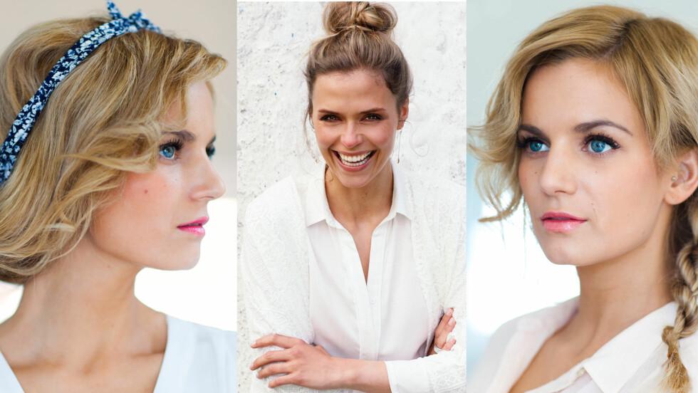 NY SVEIS? FÅ FRISYRETIPSENE: Fine frisyrer til alle anledninger finner du i denne saken! Foto: Astrid Waller og  Kamilla Bryndum