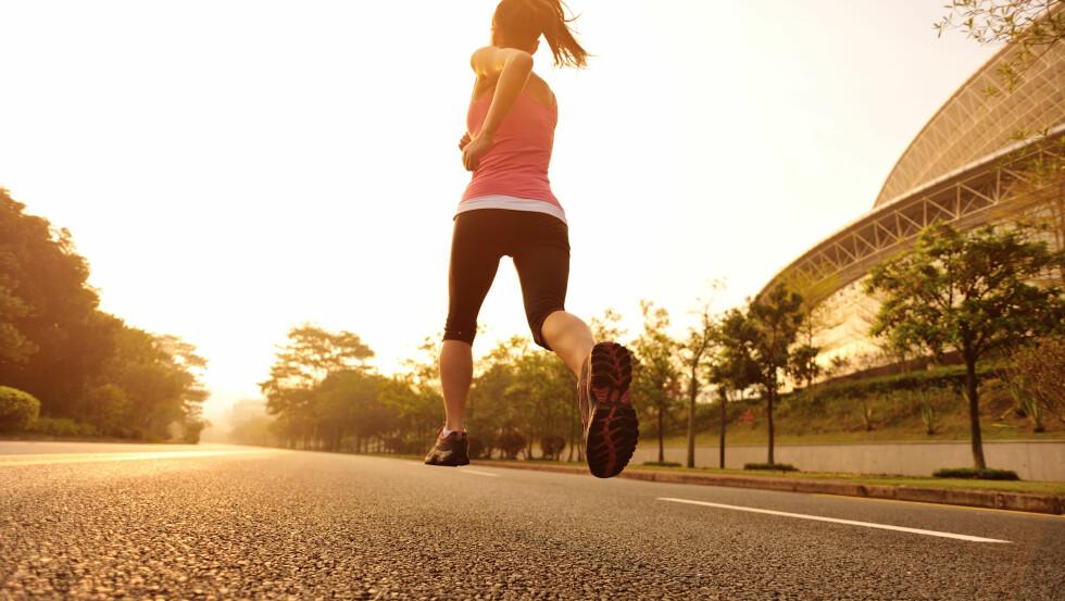 EFFEKTIV TRENING: Løping er en av de mest effektive formen for trening, sier tidligere toppidrettsutøver innen løping - Hanne Lyngstad. Foto: lzf - Fotolia