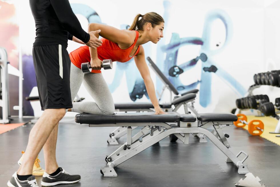 PT: Treningskjedene fortsetter denne høsten fokuset på personlig trening, en trend de ser at flere kaster seg på.  Foto: NTB Scanpix