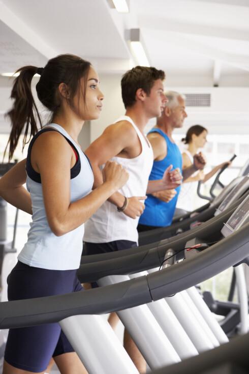 INDOOR RUNNING: En voksende trend hos treningskjedene. Foto: NTB Scanpix