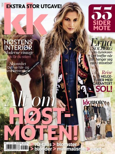 NYTT NUMMER: KK 32 er i salg fra fredag 8. august. Foto: Sigbjørn Borud
