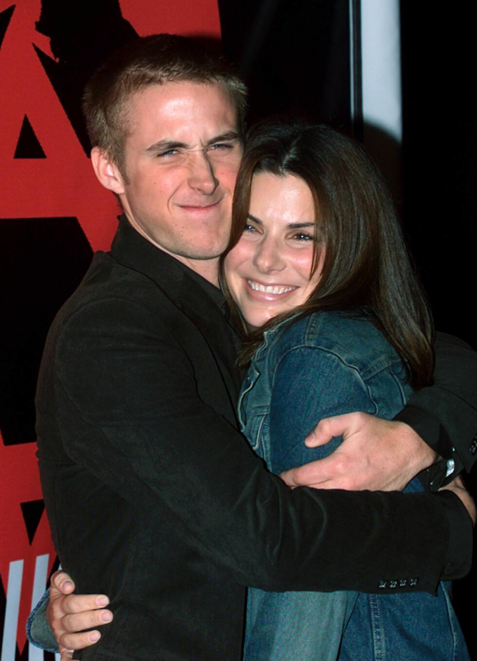 DEN BESTE KJÆRESTEN: Ryan Gosling skal ha sagt at ekskjæresten Sandra Bullock var en av de beste kjærestene han har hatt. Foto: REUTERS