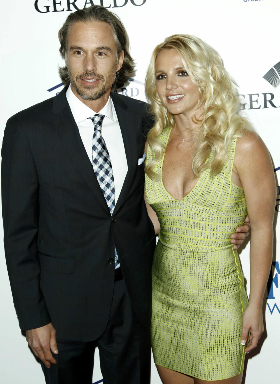 2011: Jason Trawick (43) og Britney Spears (33). Foto: Ap