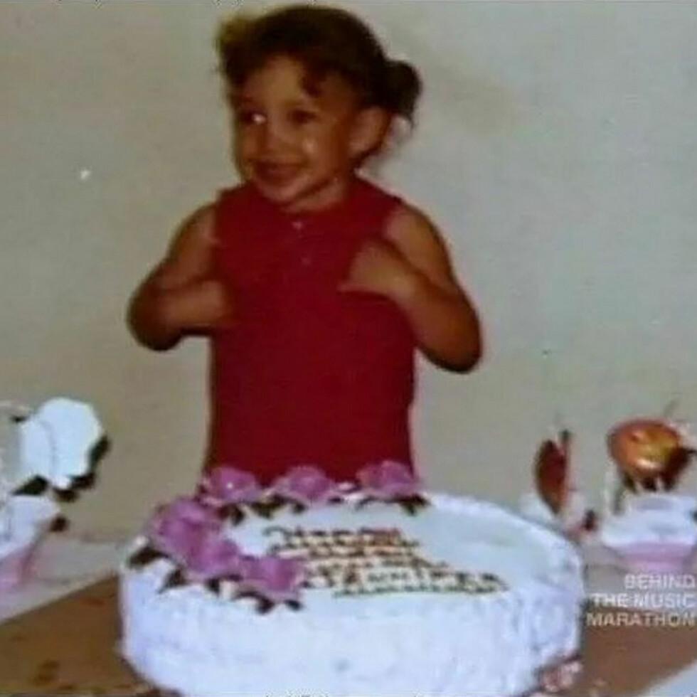 DELTE PRIVAT BILDE: Lopez la ut dette bildet av seg selv på Instagram på bursdagen sin. Foto: Xposure