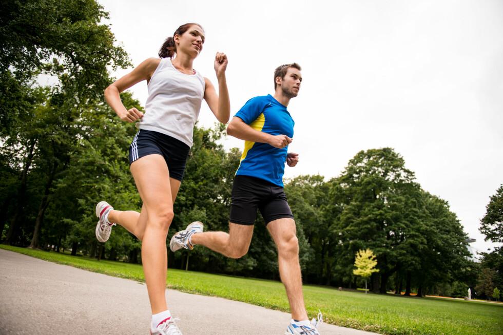 TREN SAMMEN: Skaff deg en treningskompis! Det har bevist effekt. Foto: Martinan - Fotolia