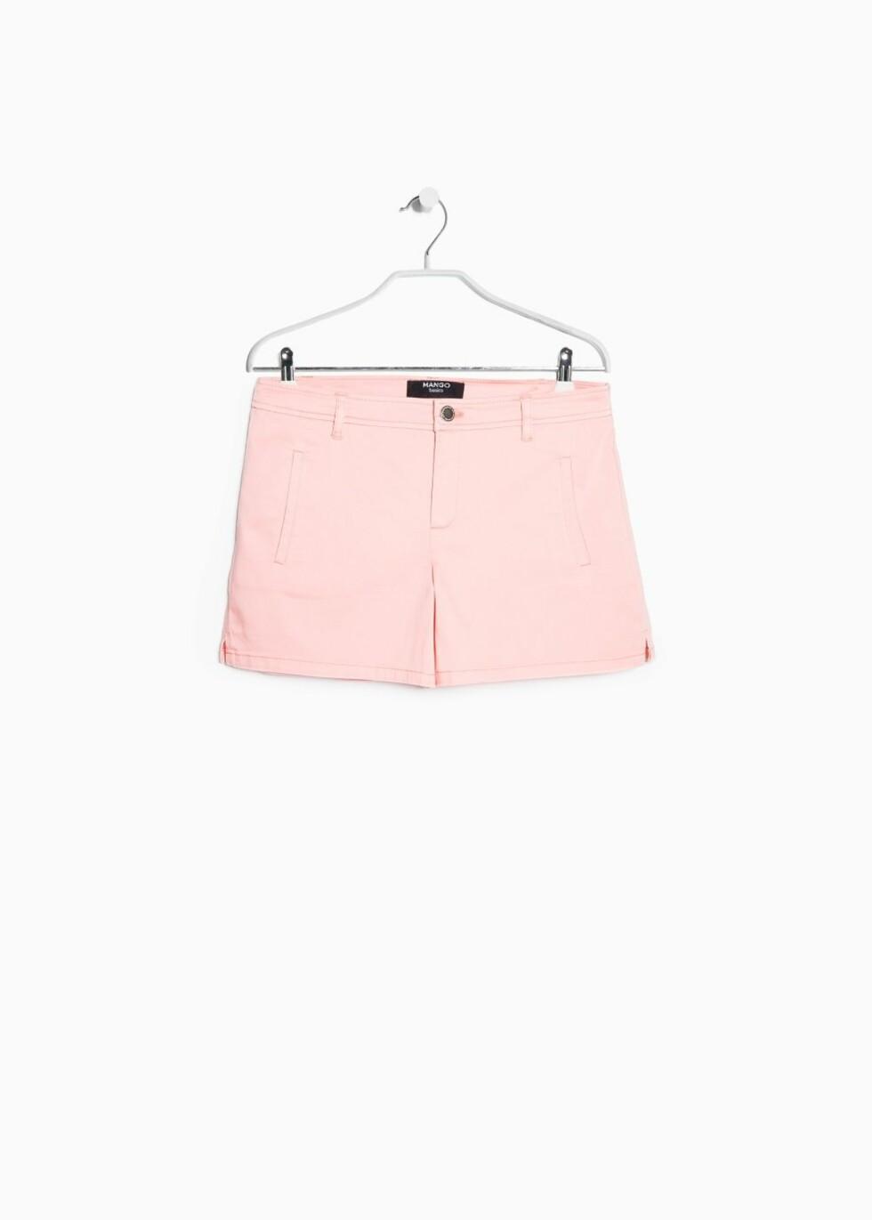 Shorts fra Mango, kr 84. Foto: Produsenten