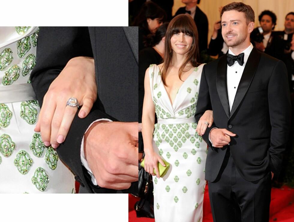 Jessica Biel (33) og Justin Timberlake (34). Foto: Scanpix