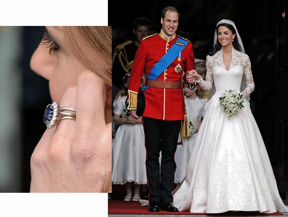 Prins William (33) og hertuginne Kate (33). Foto: Scanpix