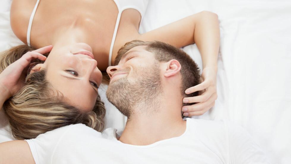 FÅ FART PÅ SEXLIVET: Sliter du med å få han i gang? Prøv disse fem triksene. Foto: and.one - Fotolia