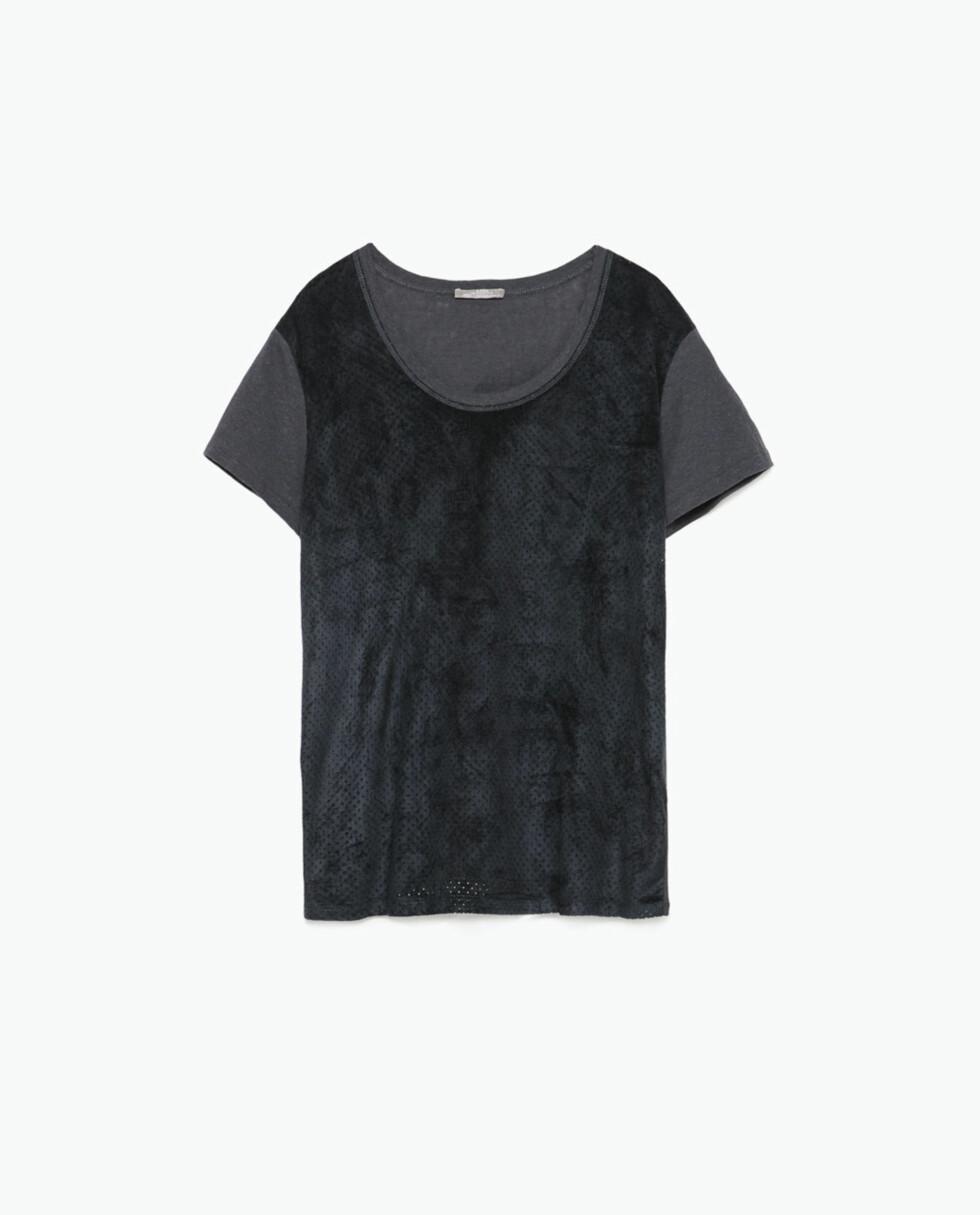T-skjorte fra Zara, kr 129. Foto: Produsenten