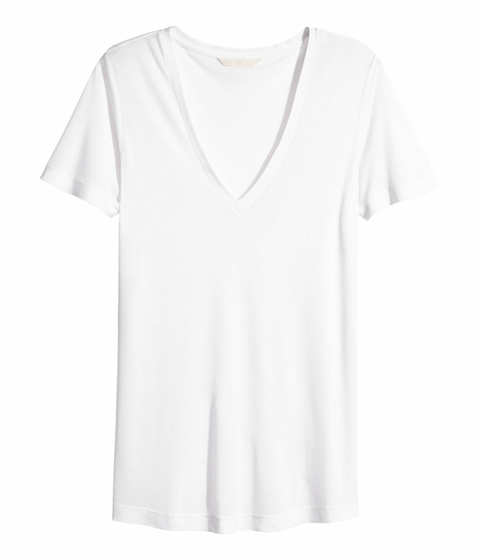 T-skjorte fra H&M, kr 199. Foto: Produsenten