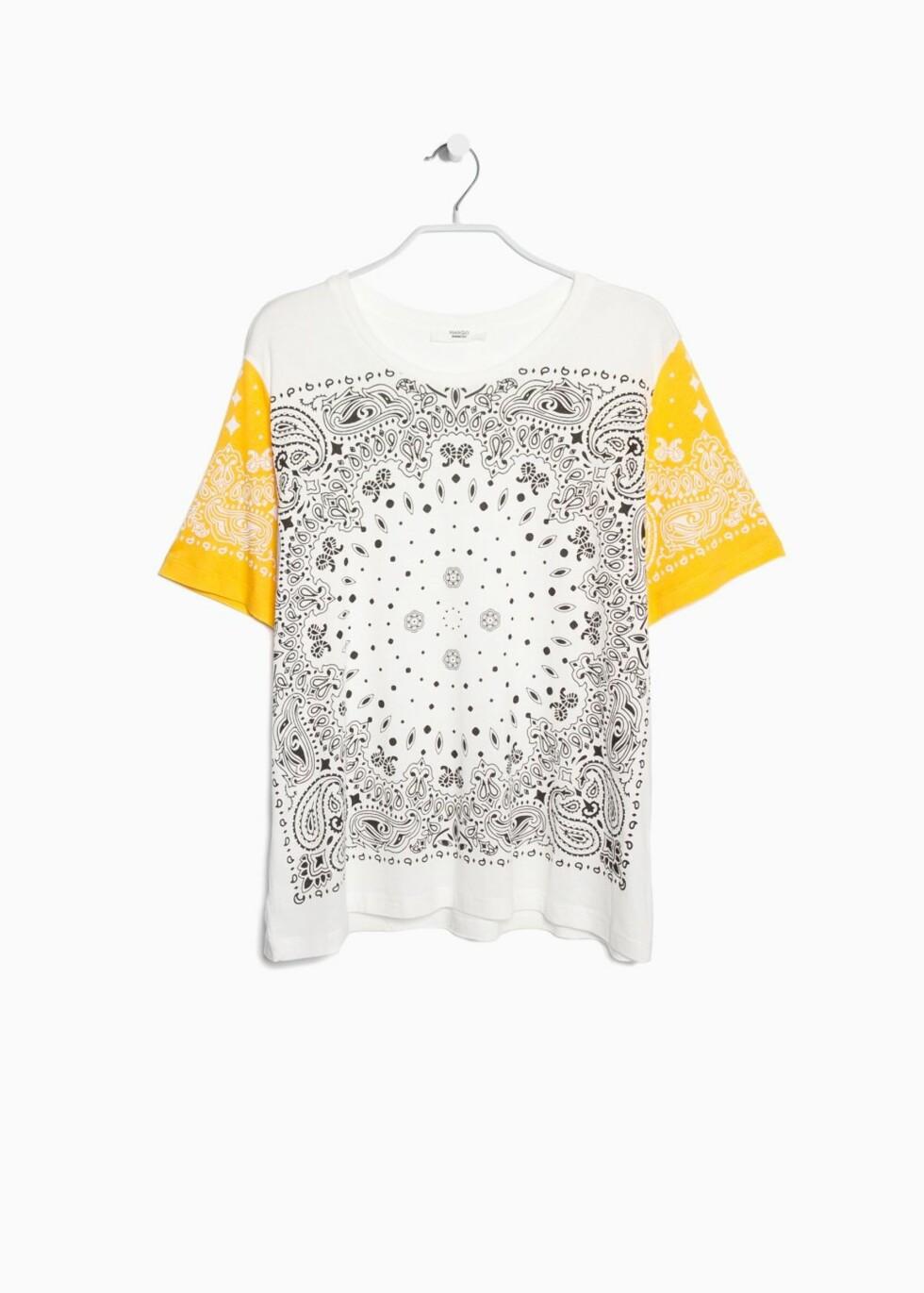 T-skjorte fra Mango, kr 114. Foto: Produsenten