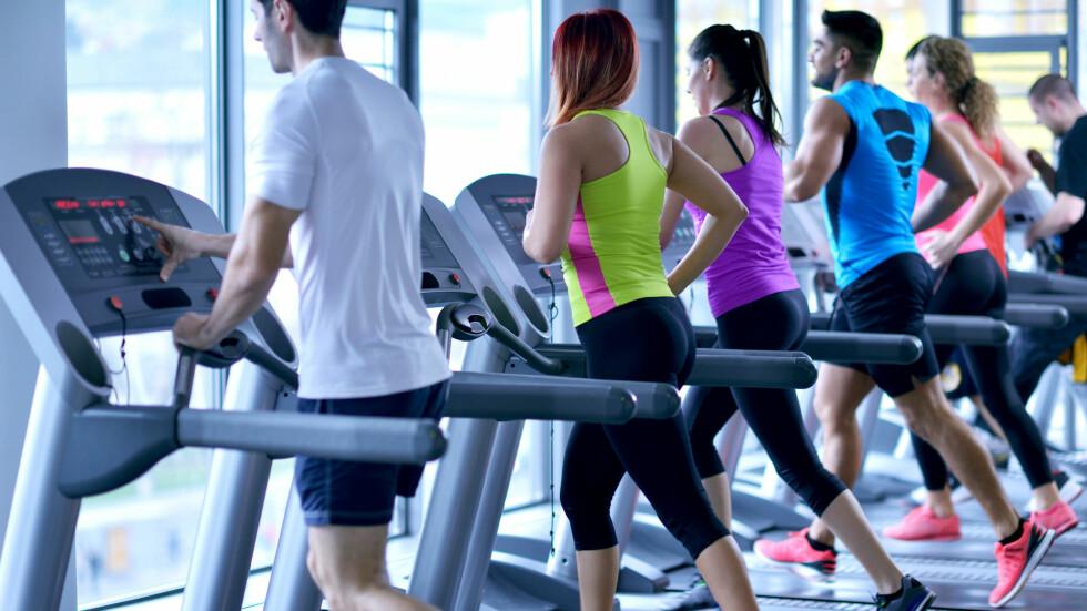 <strong>KRAMPETRENING:</strong> Etter ferien er det mange som trener flere ganger i uken for å komme i form igjen. Ifølge eksperten er ikke dette særlig bra dersom du ønsker å holde på motivasjonen resten av året.  Foto: .shock - Fotolia