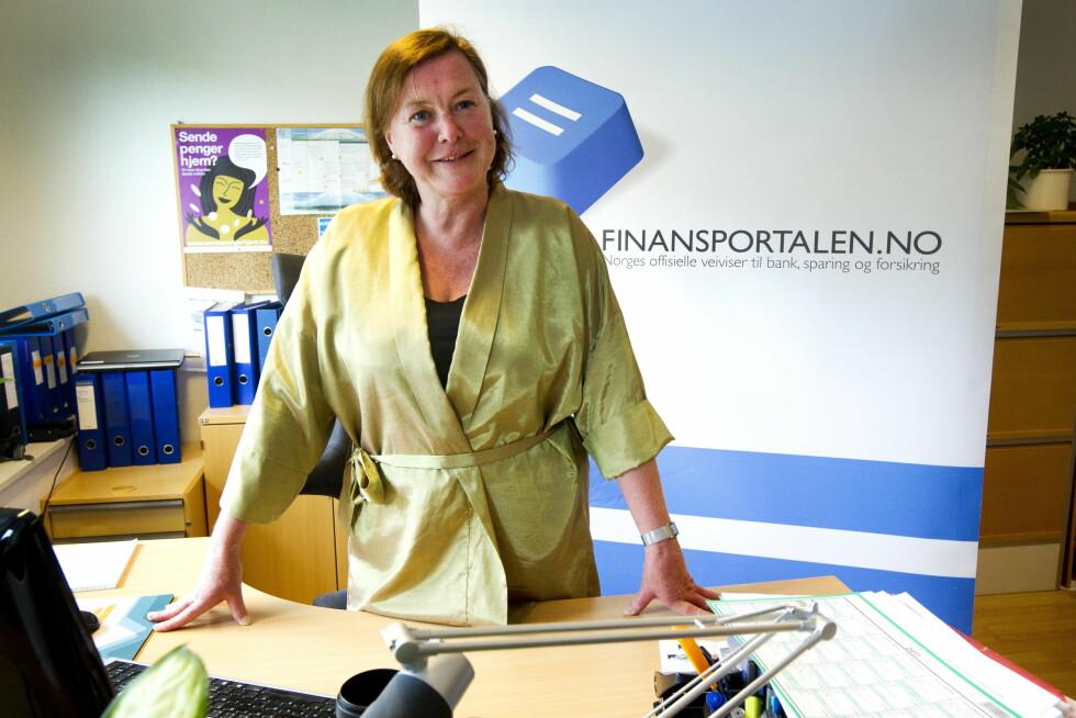 EKSPERTEN: Daglig leder og redaktør for Finansportalen -  Elisabeth Realfsen.  Foto: VG