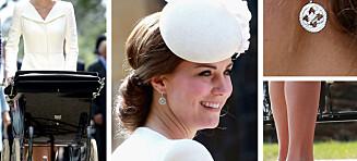 Kate Middleton (33) bar smykker verdt over 50.000 kroner
