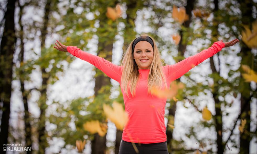 BEVEG DEG: Personlig trener og kostholdsveileder, Anniken Karlsrud, mener det beste er å kombinere to effektive økter i uka med hverdagsaktiviteter som å gå, sykle og ta trapper. Foto: RT Kjaeran
