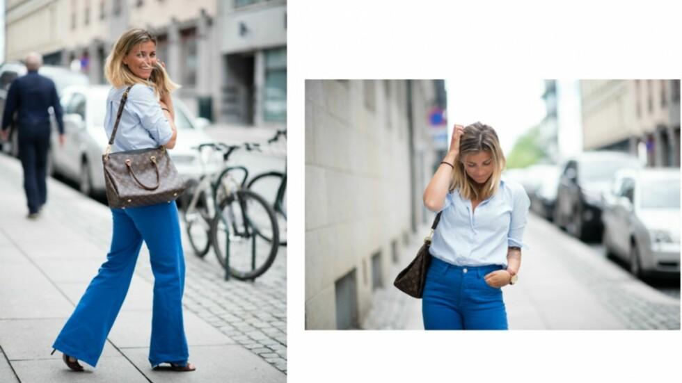 """SUNN OG FRISK TOBARNSMOR: Janka Polliani fikk """"du er feit"""" i kommentarfeltet sitt, etter å ha lagt ut disse bildene på bloggen sin tidligere denne uken.  Foto: Polliani.com"""