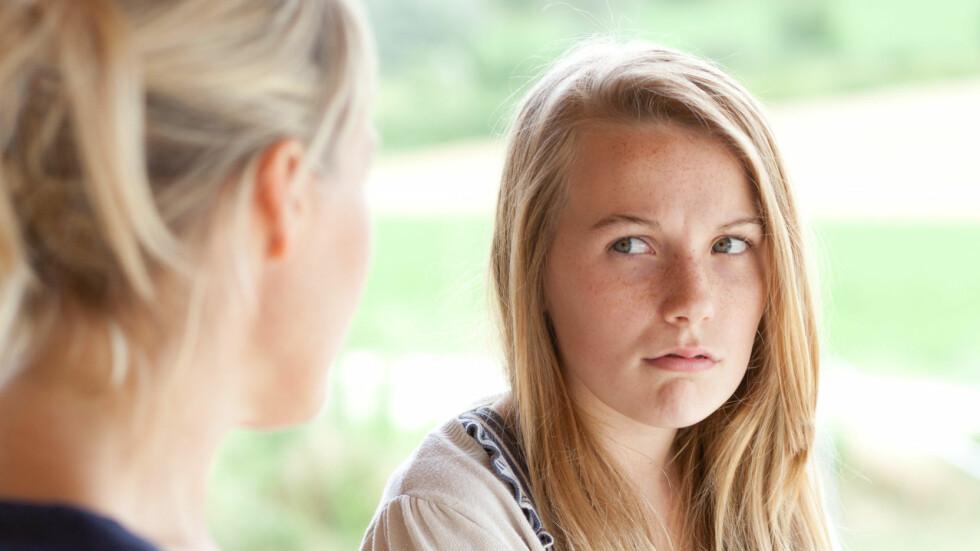 UTFORDRENDE TENÅRINGSTID: For å forstå din datter, er det avgjørende å forstå hva som har forandret seg siden du selv var tenåring.  Foto: REX/Burger/Phanie/All Over Press
