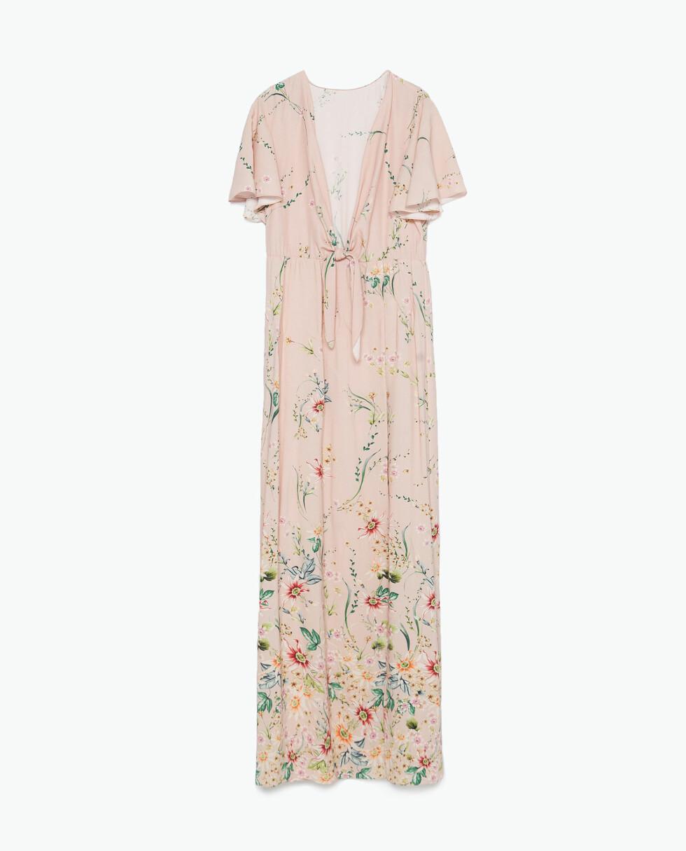 Kjole fra Zara, kr 499. Foto: Produsenten