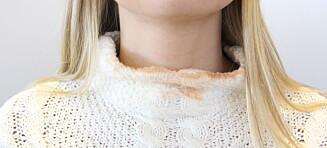 Får du ofte sminke på kragen?