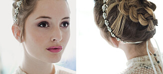 Bruk smykkene i håret ditt