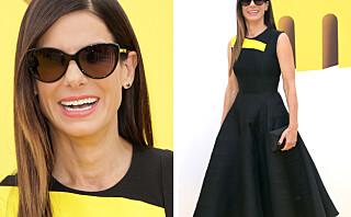 Du gjetter aldri hva Sandra Bullock (50) stylet kjolen med