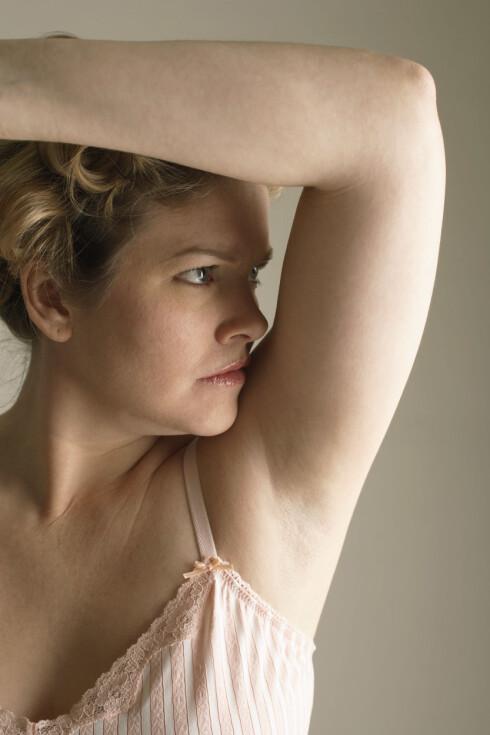 SVETTER DU MYE?: Synes du at du svetter overdrevent mye? Det finnes behandlingsmetoder som kan hjelpe!