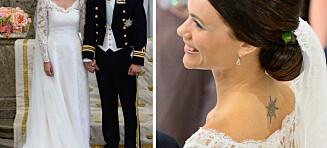 Sofia Hellqvists brudekjole: - En nydelig brudekjole en prinsesse verdig
