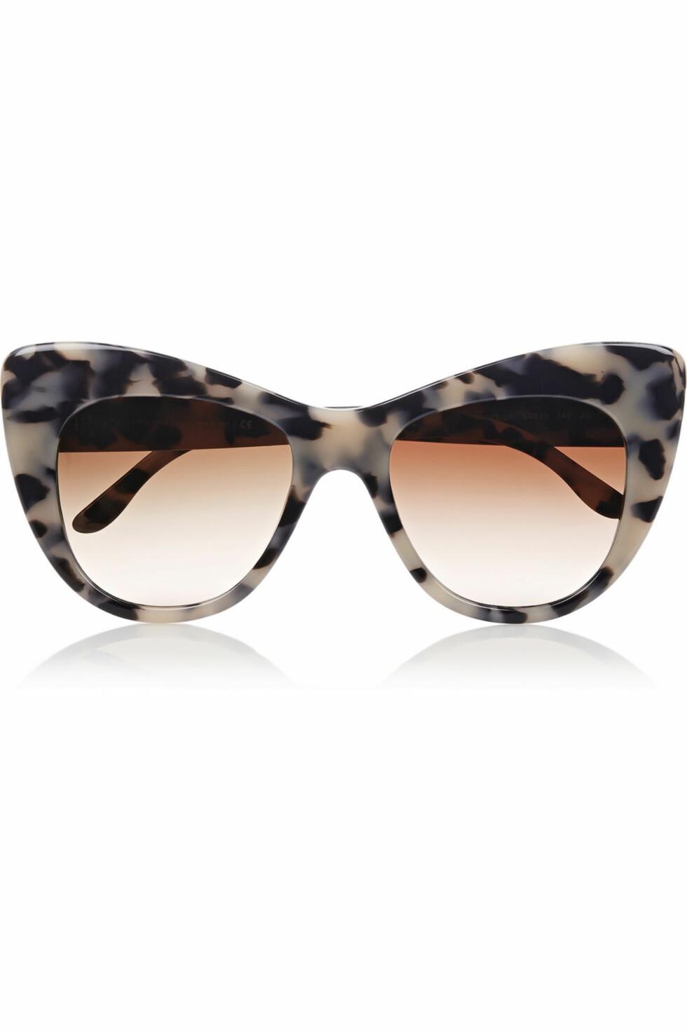 Solbriller fra Stella McCartney, ca. kr 1600.  Foto: Net-a-porter.com