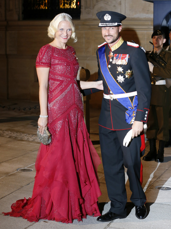 GLAMORØS: Denne kjolen er motejournalist Stines favoritt. Foto: Ap