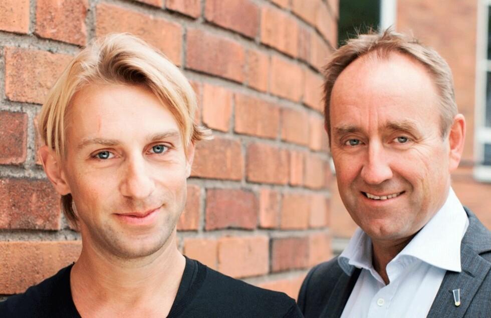 NY BOK: Legene Anders Hansen og Carl Johan Sundberg har nylig gitt ut boken «Alle kan trene» (kr 349, Pax forlag). Foto: Pax Forlag