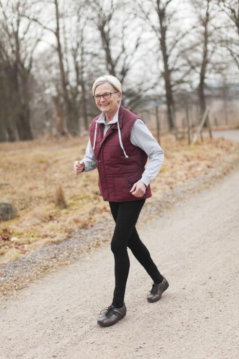 ALDRI FOR SENT: Det er aldri for sent å begynne å trene, og det vil ha en positiv helseeffekt uansett.  Foto: Scanpix