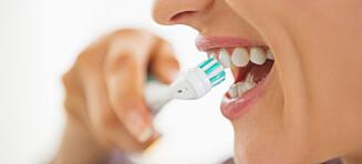 Kan du få hull av å glemme en tannpuss?