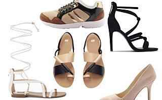 10 sko til under 500-lappen