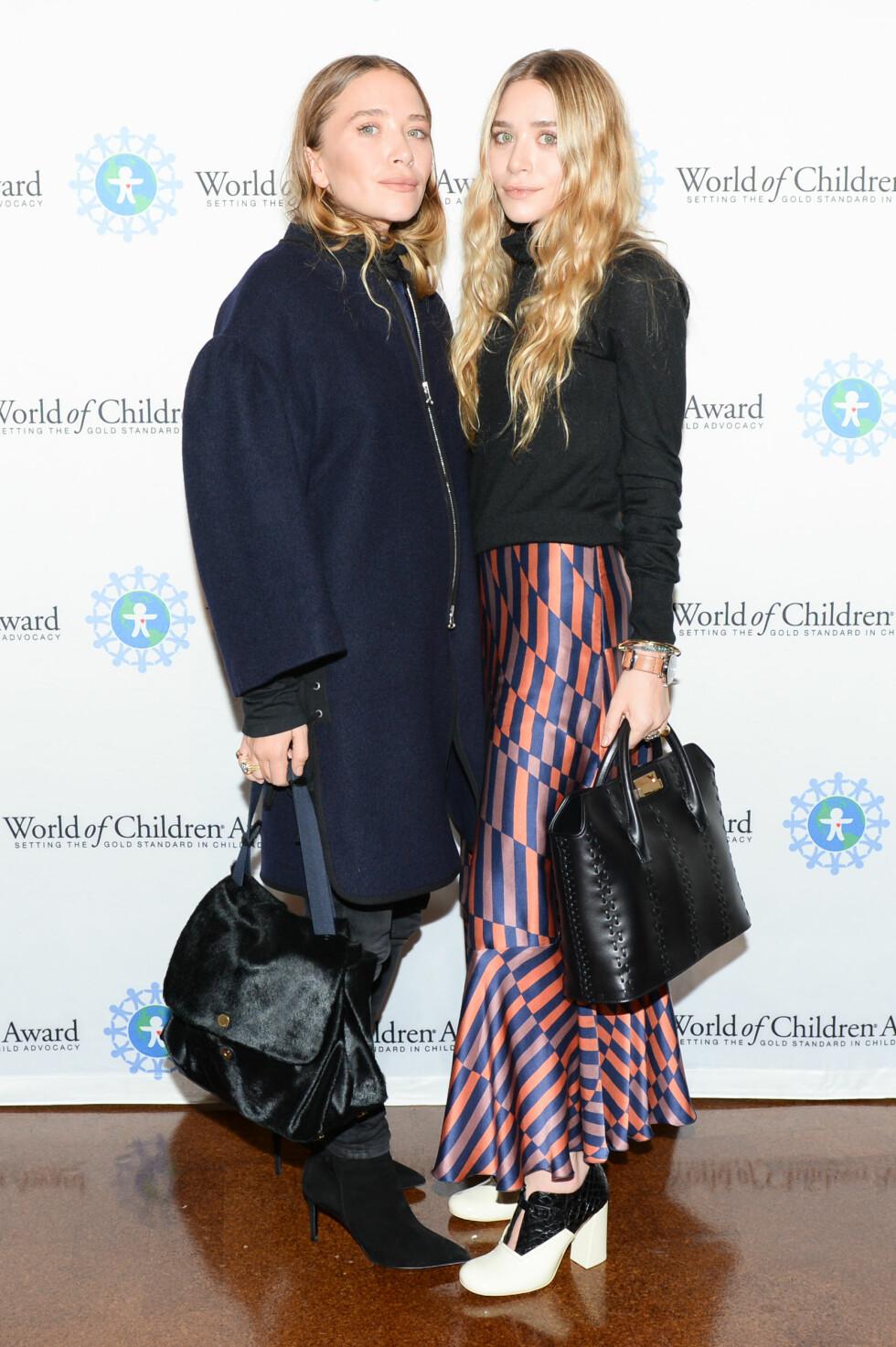 Olsen-tvillingene. Foto: SipaUSA