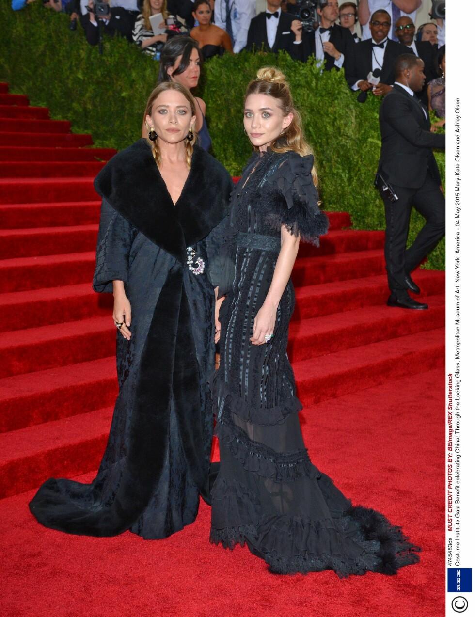 Olsen-tvillingene. Foto: Rex Features
